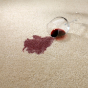 If you have a spill during your dinner party, you need to take steps to immediately lift a red wine stain out of your rug or carpet. Then, call us for professional carpet cleaning in Scottsdale.
